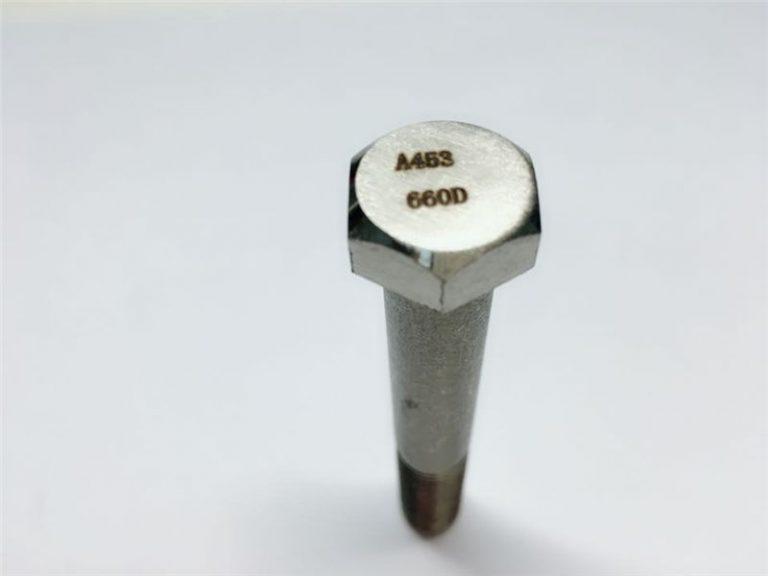 a286 visokokvalitetni pričvršćivači astm a453 660 en1.4980 pričvršćivanje vijčanim strojevima