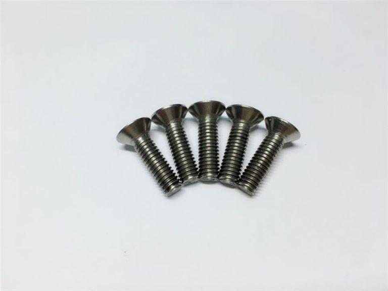 M3, M6 vijak s titanskim vijkom, glava poklopca glava titana prirubnica za operaciju kralježnice