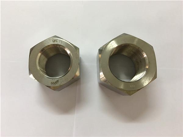 proizvodnja nikl-legure a453 660 1.4980 šesterokutne matice
