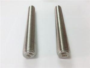 Br.77 Duplex 2205 S32205 pričvršćivači od nehrđajućeg čelika DIN975 DIN976 šipke s navojem F51