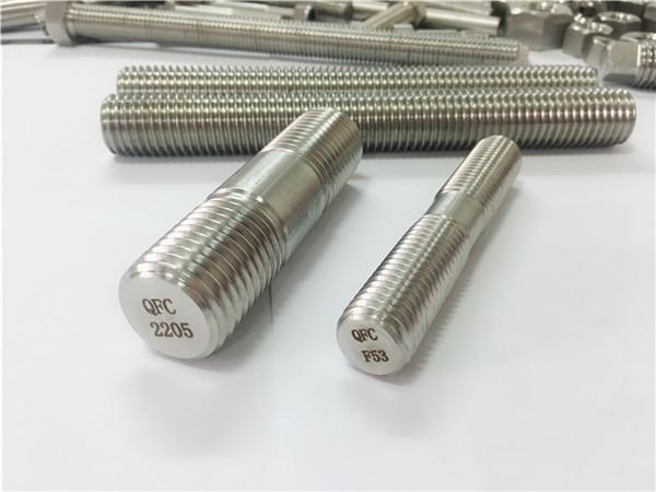 duplex 2205 s32205 2507 s32750 1,44410 visokokvalitetni hardverski pričvršćivač sidreni štap s drvenim navojem