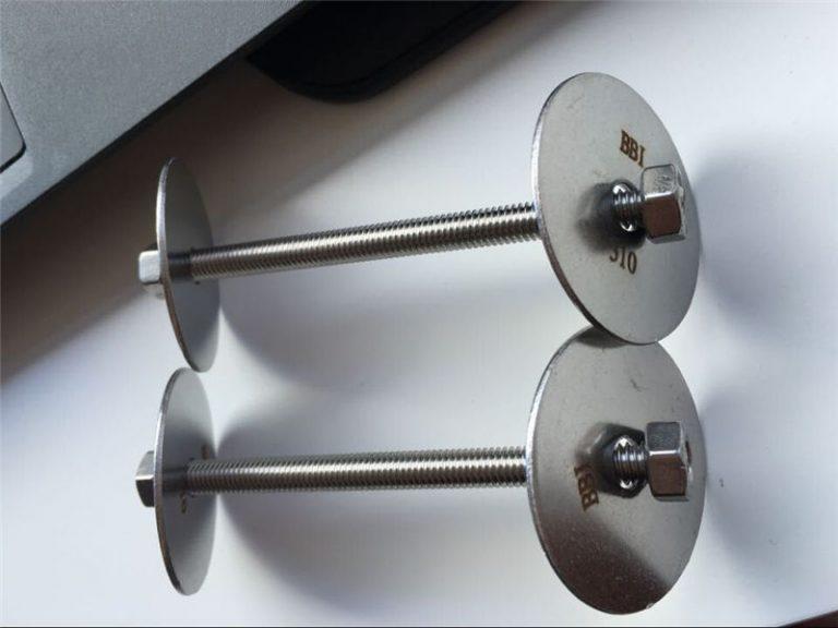 ss310 / ss310s astm f593 zatvarač, vijci od nehrđajućeg čelika, matice i podloške