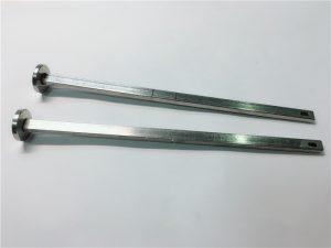 dobavljač učvršćivača hardvera 316 nehrđajući čelik ravna glava četvrtasti vrat din603 m4 vijak za nosač