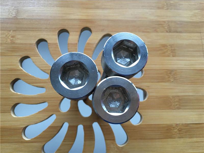 visokokvalitetni ASEM šesterokutni vijak titanijum gr2 vijak / vijak / matica / podloška /