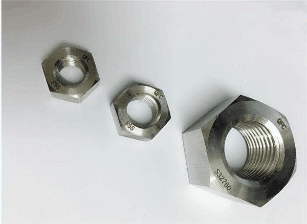 duplex 2205 / f55 / 1.4501 / s32760 pričvršćivači od nehrđajućeg čelika teška šesterokutna matica m20